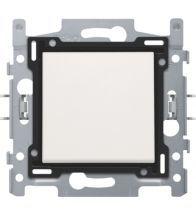 Niko - Interrupteur unipolaire white bornes a connexion - 101-61108