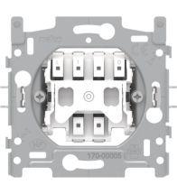 Niko - Socle bouton poussoir no bornes a connexion - 170-00005