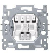 Niko - Socle interrupteur double allumage bornes a connexion - 170-01505