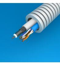 Preflex 20MM coax telenet + datakabel utp categorie 6 per 100M - 1234001444