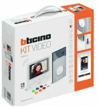 Bticino kit video 1BP linea 3000 + classe 100 X16E wifi et 3G et 4G 364614
