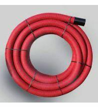 Kabelbeschermingsbuis diam 50 rood per rol van 50 meter - 7843771