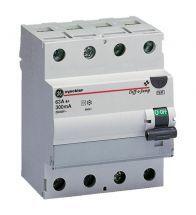 Vynckier - Differentieelschakelaar 4POLIG 63A 30MA type a 4 modules - 604310
