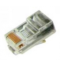 Fiche 8 contact CAT5 telephonie RJ45 - 34418