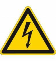"Brady - Picto driehoek 10CM ""electrische spanning"" 3/KA - 250222"