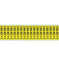 Brady - Spanningsaanduider 3X230V 13X 57 18ST - 244931