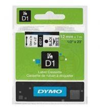 Dymo - Tape vinyl 12MMX7M nr/bc - S0720530