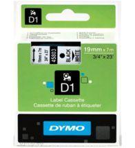 Dymo - Tape vinyl 19MMX7M nr/bc - S0720830