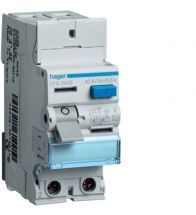 Hager - Differentieelschakelaar 2POLIG 40A 300MA type a 2MODULES - CFA240E