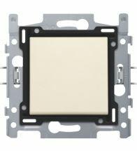 Niko - Interrupteur unipolaire cream bornes a vis - 100-61100