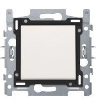 Niko - Interrupteur unipolaire white bornes a vis - 101-61100