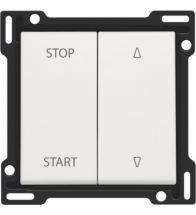 Niko - Set de finition interrupteur volets white - 101-65905