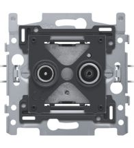 Niko - Sokkel tv/fm stopcontact gedu - 170-09600