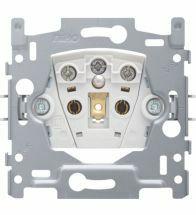 Niko - Sokkel stopcontact + penaarde + kinderveiligheid 28,5MM schroefklemmen - 170-33100