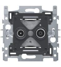 Niko - Sokkel tv/fm stopcontact edu - 170-09500