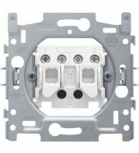 Niko - Socle interrupteur double allumage bornes a vis - 170-01500
