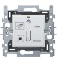 Niko - Socle variateur bouton poussoir led 3-DRAADS 100VA - 310-02800