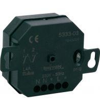 Niko - Recepteur sans fil a encastrer 2 canaux - 05-333