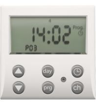Niko - Elektronische schakelklok white - 101-78200