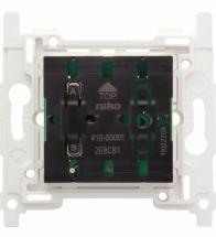Niko - Socle interrupteur sans fil 2 boutons de commande - 410-00001