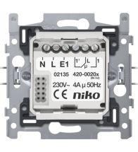 Niko - Socle contact de commutation 10A - 420-00100