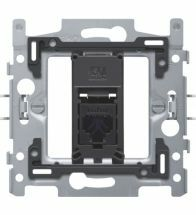 Niko - Socle prise data 1X RJ45 utp CAT6 plat - 170-65161