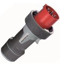 Mennekes - Fiche 63A 5P 6H 400V IP67 rouge - M13212