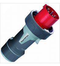 Mennekes - Fiche 5P 6H 400V rouge top extra - M13225