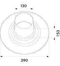 Vaillant - Dakplaat plat dak 60/100mm & 80/125mm