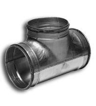 Sanutal - Pièce T 90° d125x125 avec joint