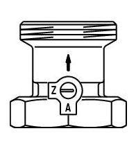 Oventrop - Sperventiel DN25 1 G:6/4 - SVE