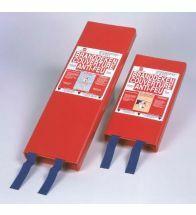 Somati - Couverture coupe feu 120x180cm rouge