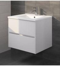 Riho - PORTO sous meuble 60cm blanc brillant