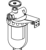 Oventrop - Oliefilter enkel 3/8 kraan mf siku element 1 pijps z/ret.aanvoer ex2123403