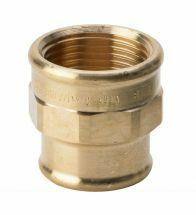 Viega - Manchon 1 x 3/4 Bronze / usine - 3240