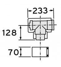 Vaillant - T-stuk met onderhoudluik