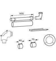 Vaillant - Kit concentrique 60/100 pour les chaudières mural es à condensation
