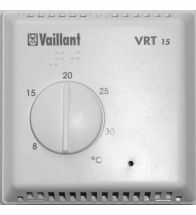 Vaillant - Thermostat d'ambiance on/off - VRT 15