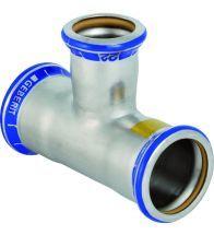Geberit - Mapress T-stuk gereduceerd (gas) 54x42x54mm - RVS