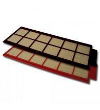 Zehnder - Ensemble de filtres 10 x G4 à étanchéité élevée Co mfoD 350/450/550 - 10 pc