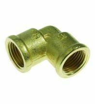 VSH - Coude fileté 3/4 FF laiton - D1116