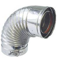 ACV - Coude Concentr. 87-90gr Inox/Inox 100/150