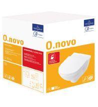 Villeroy & Boch - VB 5660H101 O.NOVO COMBIPACK WC SUSPENDU AVEC ABAT TANT SOFTCLOSE BLANC