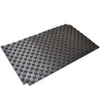 Begetube - Feuille d'isolation profilée Solotop pour le chauf fage par le sol (1400 x 800 mm).