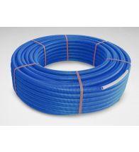 Begetube - Tube composite sous gaine 20x2mm bleu Alpex duo flex sur rouleau 50m chauffage