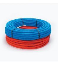 Begetube - Tube composite sous gaine 16x2mm bleu Alpex sur rouleau 50m chauffage et sanita