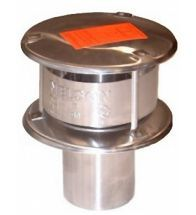 Burgerhout - Aluminium gasafvoer rookgaskap 130 mm