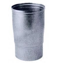 Burgerhout - Aluminium gasafvoer reduktie 130-150 mm