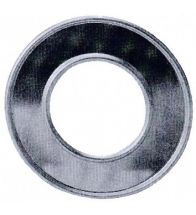 Burgerhout - Aluminium gasafvoer rosette 100 mm