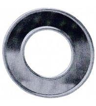 Burgerhout - Aluminium gasafvoer rosette 130 mm